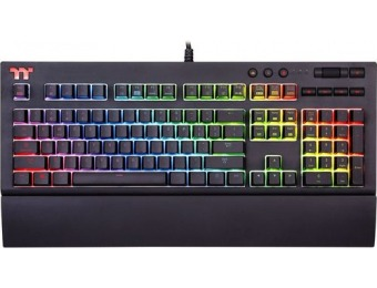 $55 off Thermaltake TT Premium X1 RGB Gaming Mechanical Keyboard