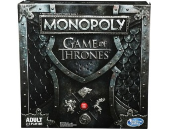 27% off Monopoly Game of Thrones Edition Board Game