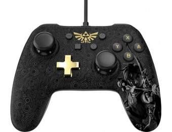 $5 off Zelda: Breath of the Wild Edition Nintendo Switch Controller