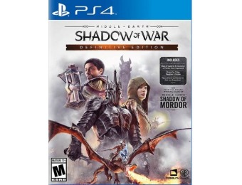 67% off Middle-Earth: Shadow of War Definitive Edition - PlayStation 4