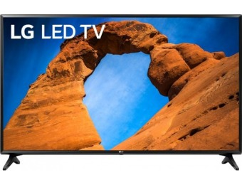 "$70 off LG 49"" LED LK5700 Series 1080p Smart HDTV"
