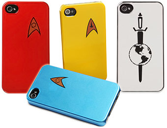 73% off Star Trek Starfleet iPhone 4 Cases