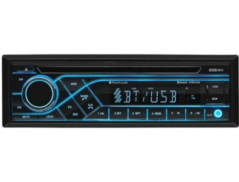 50% off Planet Audio In-Dash CD Receiver - Built-in Bluetooth