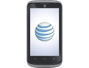 Extra $30 off AT&T GoPhone Radiant No-Contract Mobile Phone
