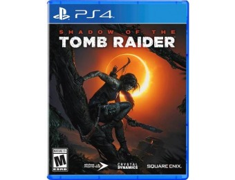 67% off Shadow of the Tomb Raider - PlayStation 4