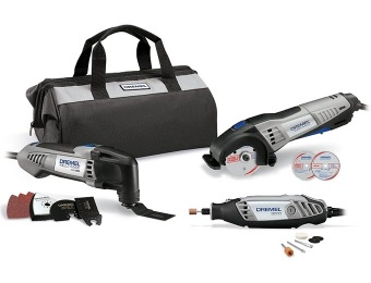 $247 off Dremel CKDR-02 Ultimate 3-Tool Combo Kit