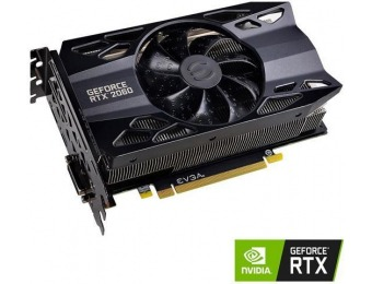 $40 off EVGA GeForce RTX 2060 GAMING 6GB GDDR6 HDB Fan