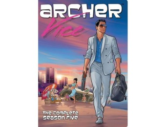 73% off Archer: Season 5 (DVD)