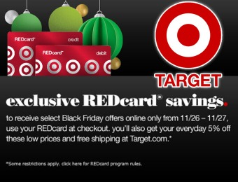 Black Friday Early Access to Select Offers with REDcard (29 offers)