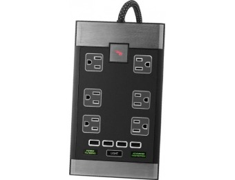 $30 off Rocketfish Premium 6-Outlet/4-USB Surge Protector