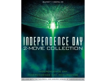 73% off Independence Day: 2-Movie Collection (Blu-ray)