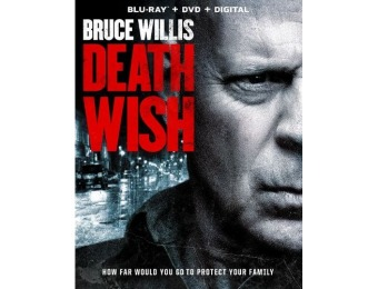 50% off Death Wish (Blu-ray/DVD)