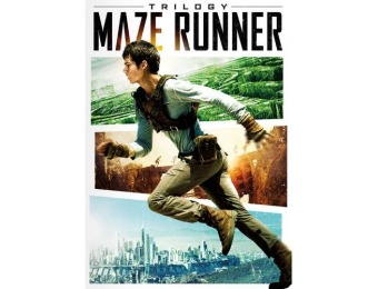 57% off Maze Runner Trilogy (DVD)