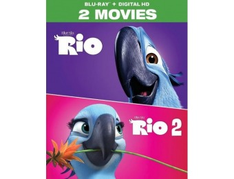 68% off Rio: 2-Movie Collection (Blu-ray)