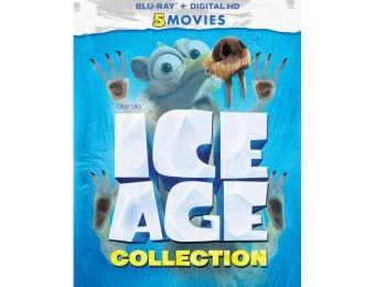 62% off Ice Age: 5-Movie Collection (Blu-ray)