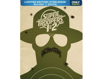 33% off Super Troopers 1 & 2 [SteelBook] (Blu-ray)
