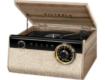 32% off Victrola Bluetooth Stereo Audio System - Farmhouse Walnut