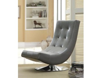 50% off William's Home Furnishing Trinidad Gray Padded Chair