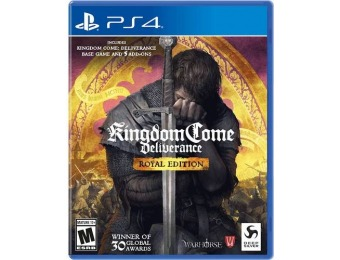 38% off Kingdom Come: Deliverance Royal Edition - PlayStation 4