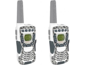 60% off Cobra MicroTALK 37-Mile, 22-Ch FRS/GMRS 2-Way Radios (Pair)
