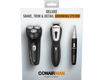 40% off Conair ConairMan Deluxe Electric Shaver
