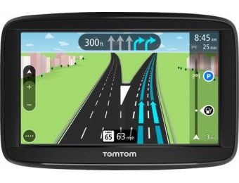 "$70 off TomTom VIA 1525M 5"" GPS with Lifetime Map Updates"