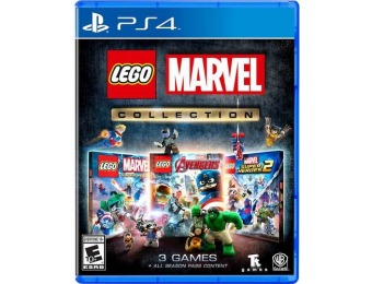 67% off LEGO Marvel Collection - PlayStation 4