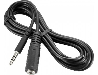 67% off Insignia 6' 3.5mm Mini Audio Extension Cable