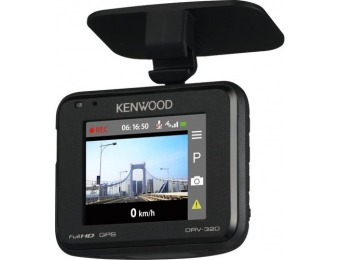 $65 off Kenwood DRV-320 Full HD Dash Cam