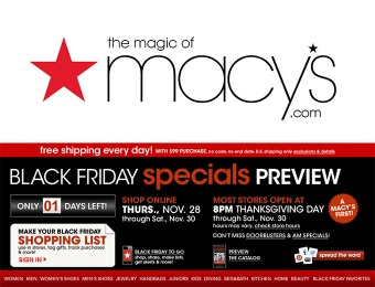 Macy's Black Friday Specials Preview - See all the Deals & Doorbusters!