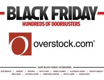 Overstock Black Friday Deals - Hundreds of Doorbusters NOW!