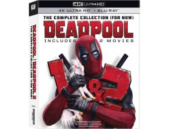 33% off Deadpool 1 & 2 (4K Ultra HD + Blu-Ray)