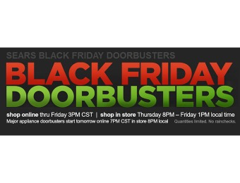 Sears Black Friday Doorbusters - Available Online Now! (1643 deals)