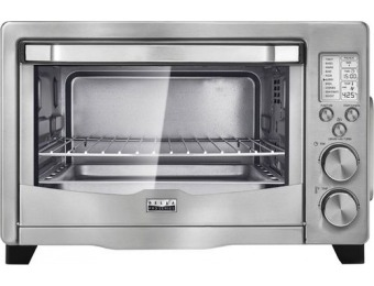 $30 off Bella Pro 6-Slice Toaster Oven Air Fryer - Stainless Steel