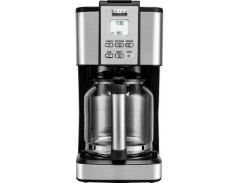 33% off Bella Pro Series 14-Cup Coffeemaker - Stainless Steel