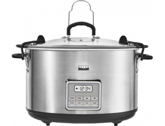 38% off Bella Pro Series 10-qt. Digital Slow Cooker - Stainless Steel