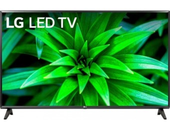 "$40 off LG 32LM570BPUA 32"" LED 720p Smart HDTV with HDR"