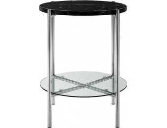 $46 off Walker Edison Modern Round Side/End Table