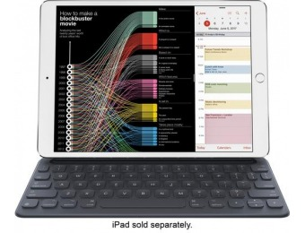 "$60 off Apple Smart Keyboard for Apple 10.5"" iPad Pro and iPad Air"