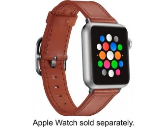 $10 off Platinum Band Leather Strap for Apple Watch 38/40mm