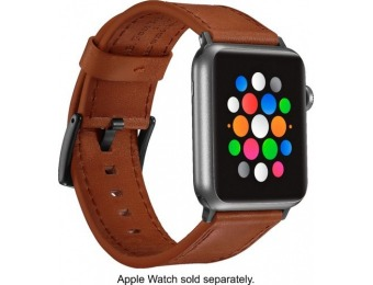 $10 off Platinum Band Leather Strap for Apple Watch 42/44mm