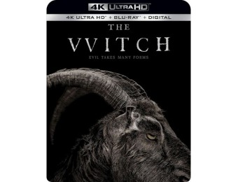 44% off The Witch (4K Ultra HD Blu-ray/Blu-ray)