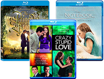 60% off Romantic Comedies on Blu-ray (from $7.49)