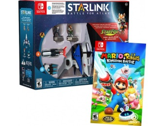$90 off Nintendo Switch Mario + Rabbids Kingdom Battle and Starlink