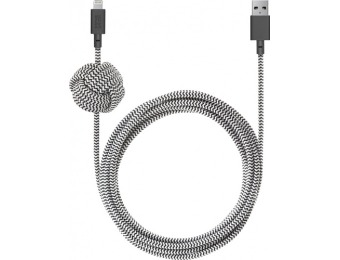 50% off Native Union Apple MFi 10' Lightning USB Charging Cable
