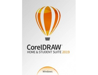 40% off CorelDRAW Home & Student Suite 2019 - Windows