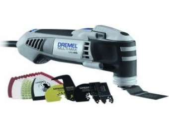 $83 off Dremel Multi-Max 4 Amp Corded Oscillating Multi-Tool Kit