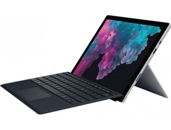 "$410 off Microsoft Surface Pro with Keyboard – 12.3"" Touch Screen"