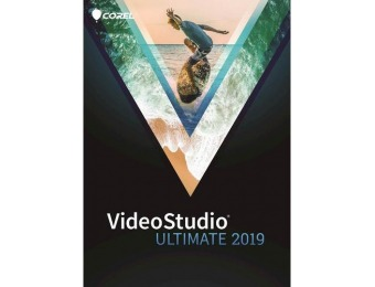 $65 off VideoStudio Ultimate 2019 - Windows