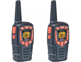 $20 off Cobra MicroTALK 32-Mile, 22-Ch FRS/GMRS 2-Way Radios (Pair)